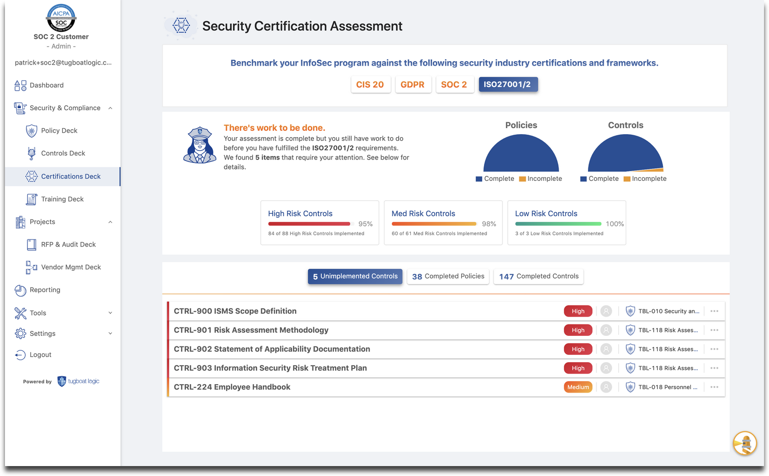 ISO27001 vs SOC 2 Certification: Six Similarities & Differences
